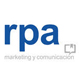 Logo de rpa marketing y comunicacion